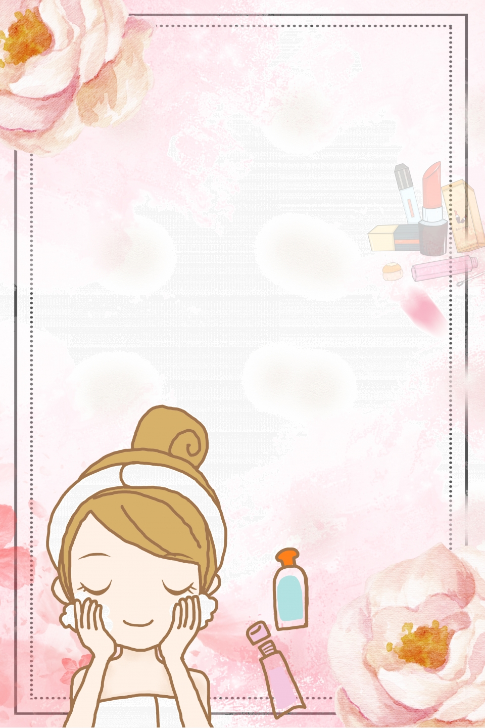 Beauty Skincare Poster Background Beauty Skin Care Beauty Poster Beauty Promotion Background Image For Free Download