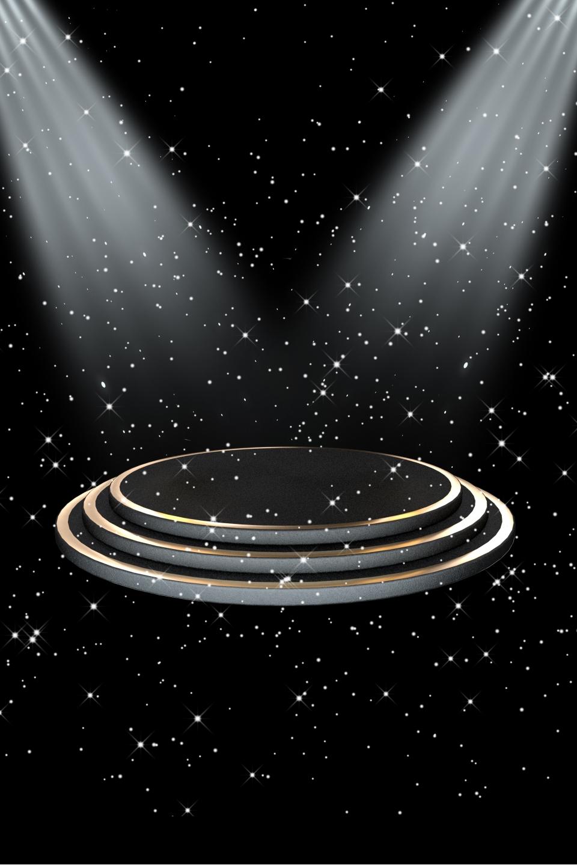 無料ダウンロードのための黒 シンプル 雰囲気 テクスチャ ステージ シンプル 黒の粒子の背景画像