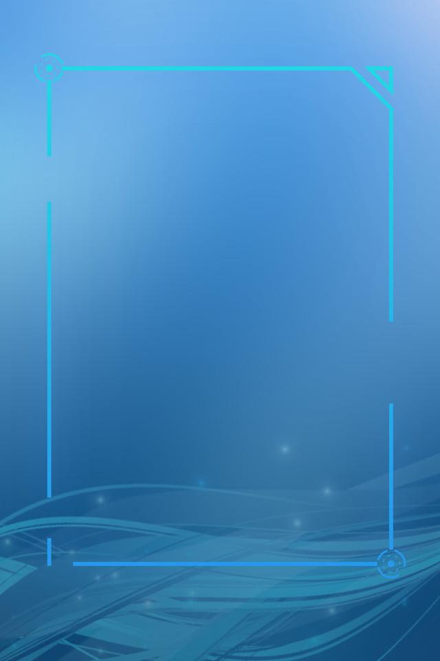 Blue Cool Lighting Technology Print Ads Blue Background Cool Lighting Background Image For Free Download