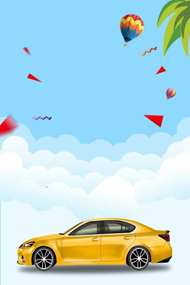 Car Rental Car Advertisement Car Rental Car Sales Car Commerce Background Image For Free Download