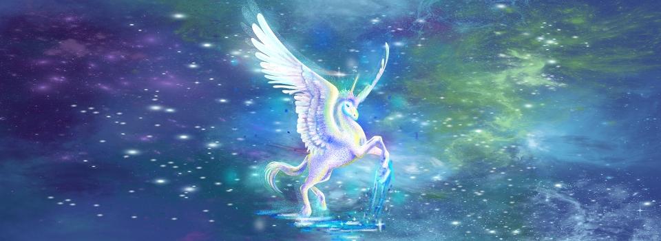 Licorne Etoiles Arc En Ciel Fee Etoiles Licorne Fee Image