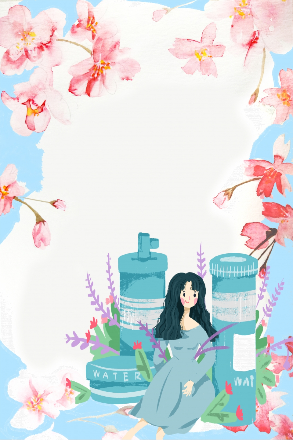Creative Aesthetic Beauty Salon Skin Care Beauty Salon Health Museum Beauty Background Image For Free Download