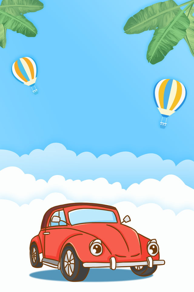 Creative And Fresh Atmosphere Car Rental Advertising Design Car Rental Car Rental Poster Car Sales Background Image For Free Download