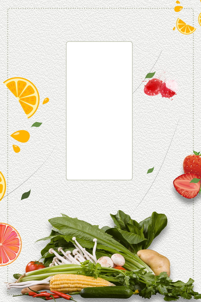 Fruit And Vegetable Fruit Hd Background Fruits And