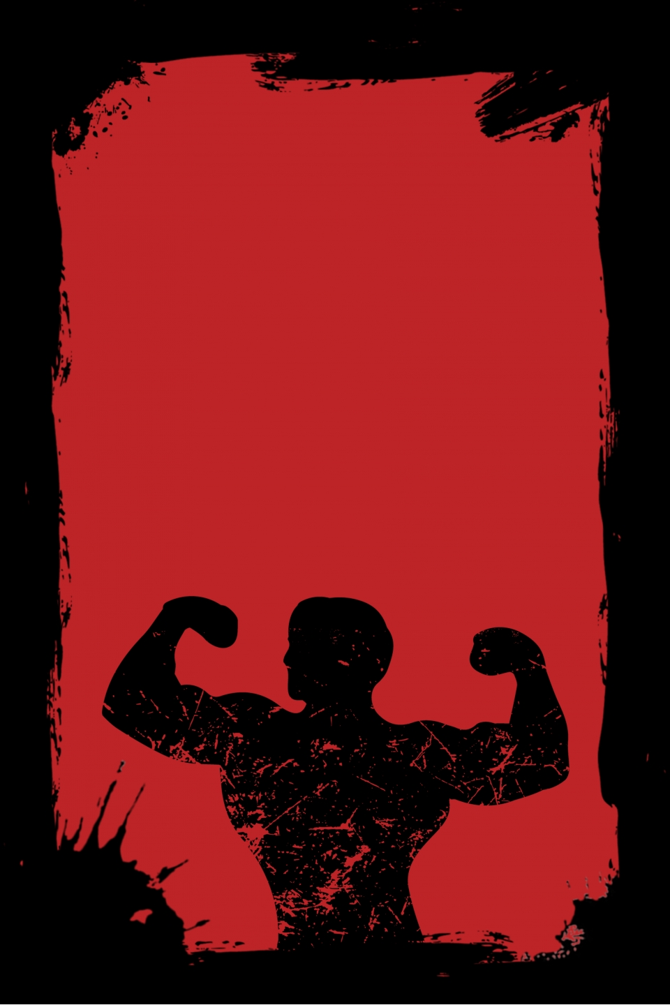 Gym Poster Background Material, Gym Poster, Fitness, Macho