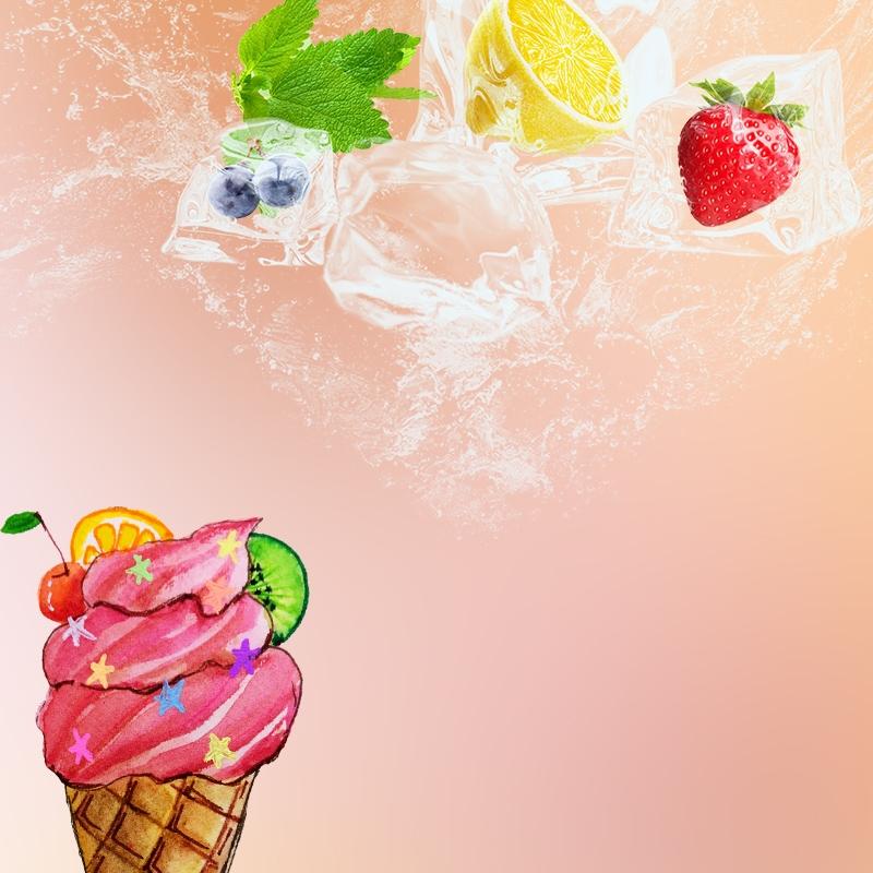 الآيس كريم الفاكهة الوردي الطبقات الرئيسية خريطة المواد الاساسية خلفيات ايس كريم الفاكهة الخلفية الفاكهة الطازجة صورة الخلفية للتحميل مجانا