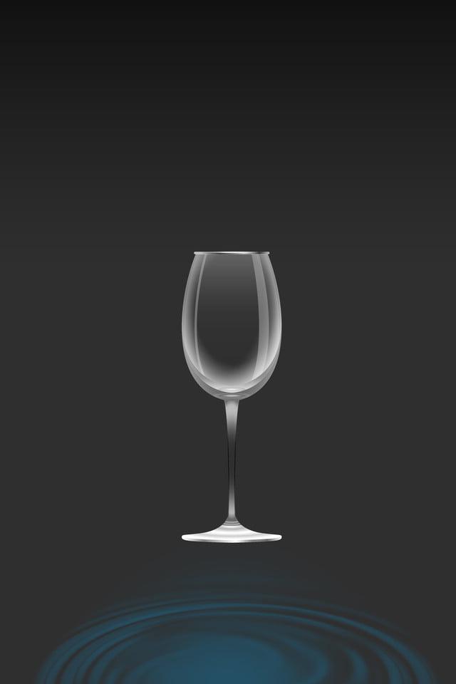 Pubblicità Bicchieri Da Vino Gocce D Acqua Unicom Del Gocce D Acqua