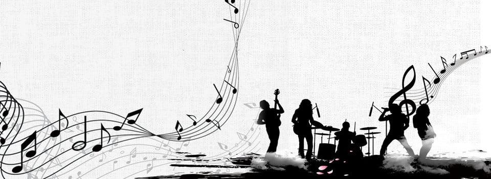 Sfondo grigio musica