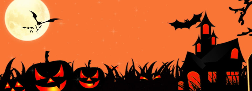 October Halloween Banner October Hilarious Halloween Background Image For Free Download