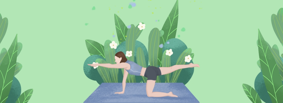 Plant Oxygen Beauty Yoga Banner S Background Image For Free Download