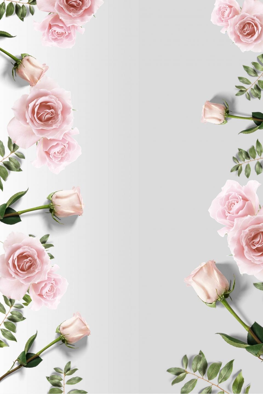 Romantic Rose Background Material, Romantic, Rose, Background Background Image for Free Download
