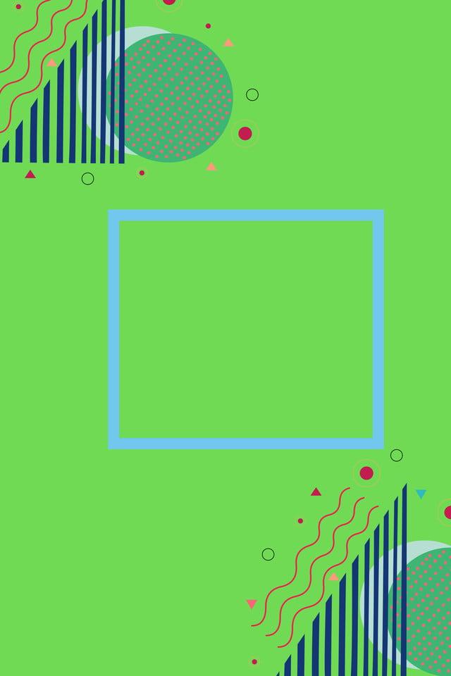 Simple Geometric Pop Style Design Background, Minimalistic