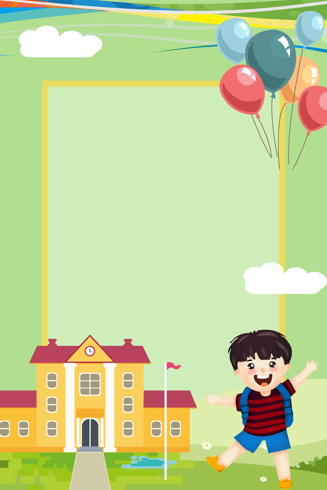 Start School Hello Classmates New Start School Activities