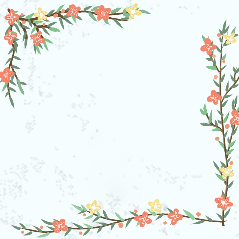 Taobao Small Fresh Plant Flowers And Plants Border Summer Main Map