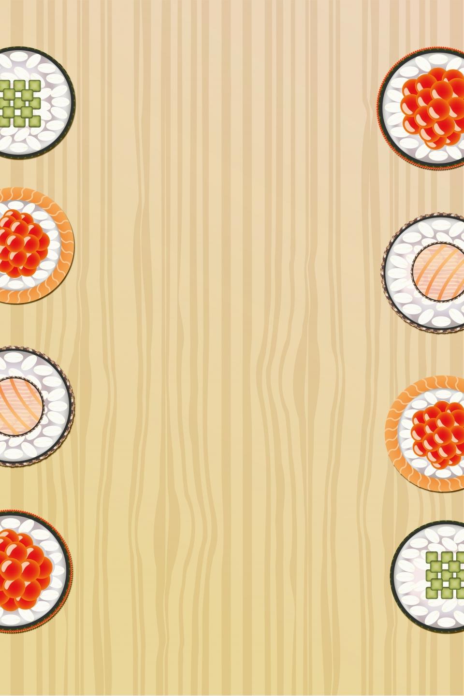 Vettore Cucina Gourmet Sfondo Cucina Gourmet Sushi Minimalista Immagine Di Sfondo Per Il Download Gratuito