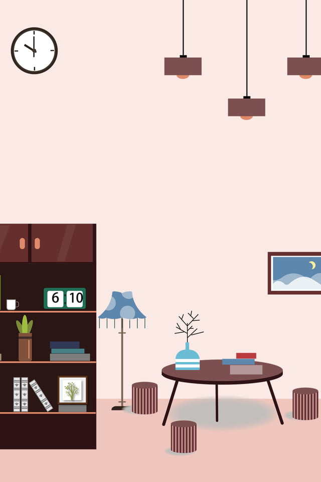 Vector Home Decoration Background Home Improvement