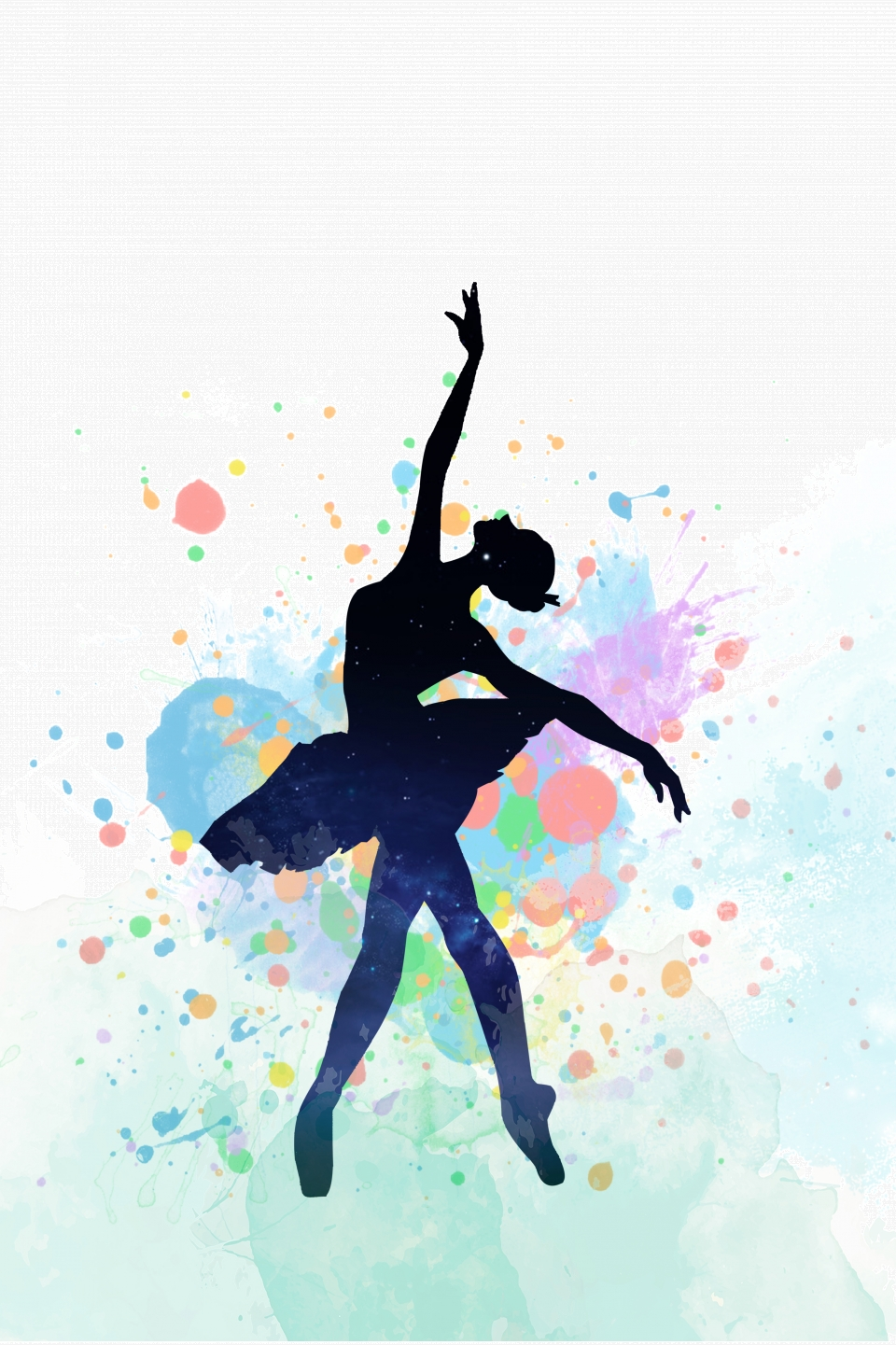 Vector Silhouette Dancer Propaganda Vector Silhouette Dance Background Image For Free Download