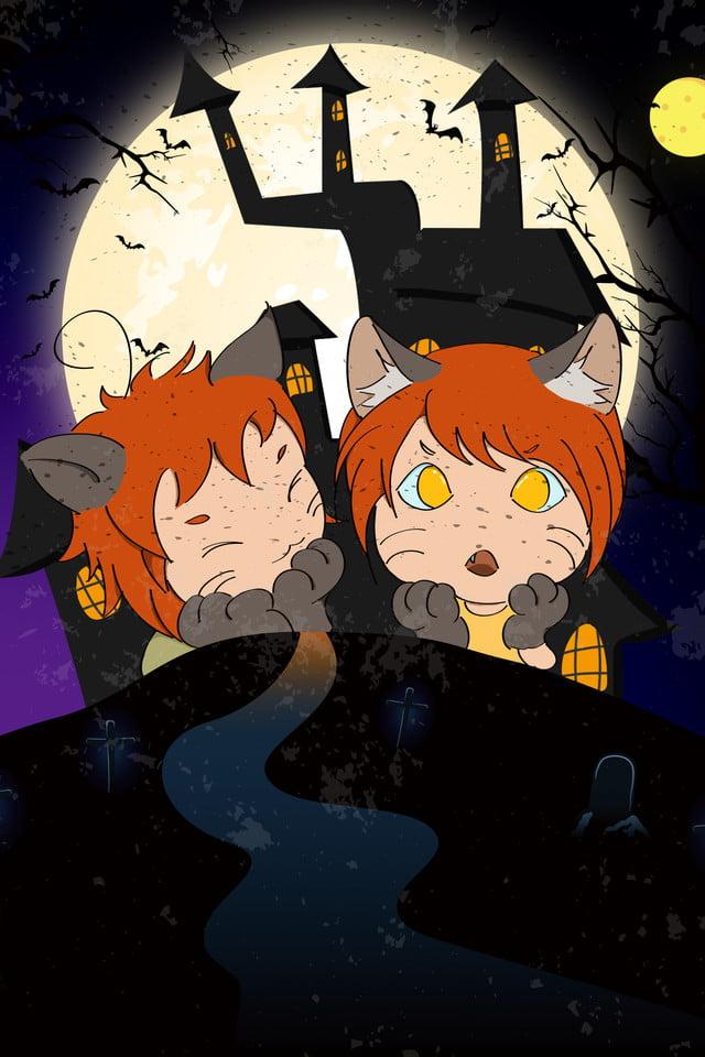 Werewolf Kills Board Game Poster Background, Werewolf Kill