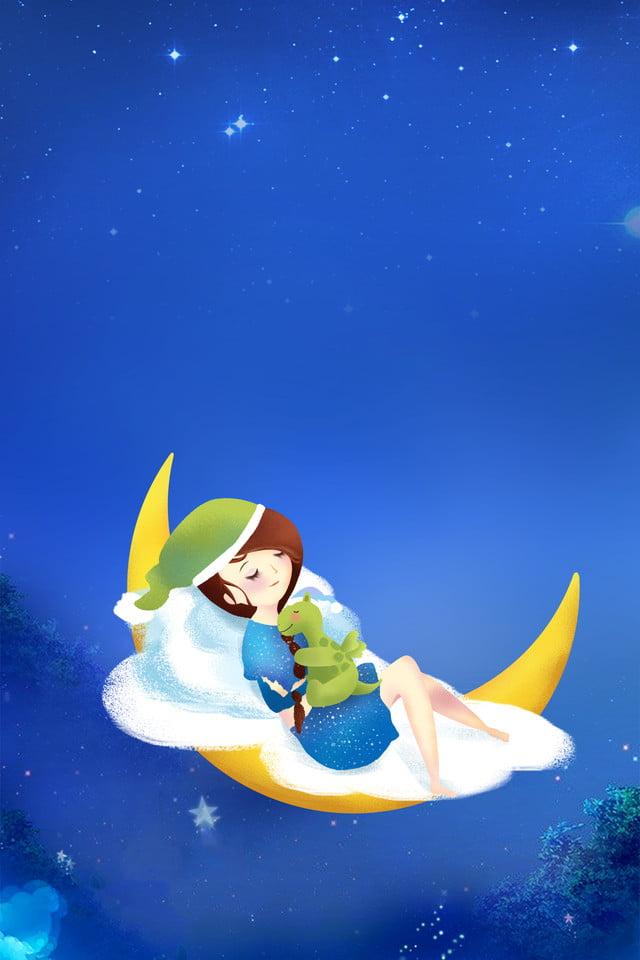 Affiche De Bonne Nuit Affiche De Mori Affiche De Dessin Anime Affiche De Bonne Nuit Bleu Affiche De Mori Bonne Image De Fond Pour Le Telechargement Gratuit