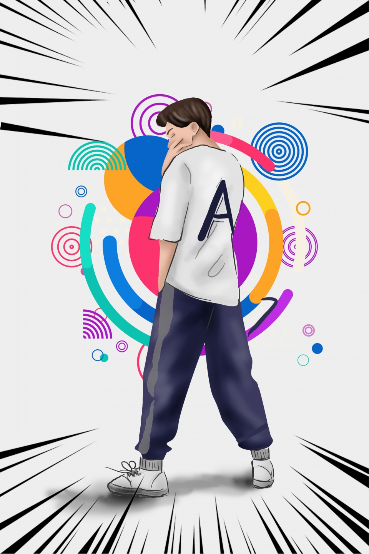 Cartoon Hip Hop Dance Poster Cartoon Street Dance Dance Background Image For Free Download