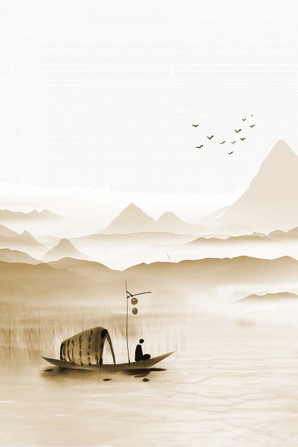 Chinese Style Buddhist Zen Poster, Zen, Zen, Buddha Background Image for  Free Download