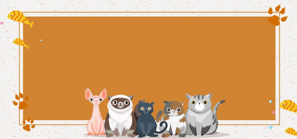 Cute Pets Hit Cute Yellow Simple Banner Cute Pets Pets Cute Pets Background Image For Free Download