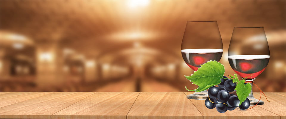 Delicious Wine Simple Brown Banner Red Wine Red Wine Poster Black Background Background Image For Free Download