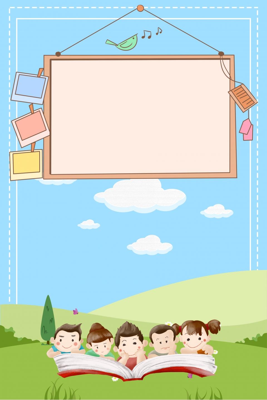 Gambar Poster Kartun Poster Mudah Poster Kanak Kanak Poster Pendidikan Awal Kanak Kanak Keseronokan Pendaftaran Kanak Kanak Latar Belakang Untuk Muat Turun Percuma