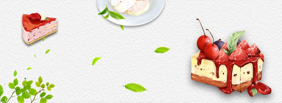 Fruit Hand Painted Dessert Gourmet Simple Banner, Fruit, Hand Painted  Style, Gourmet Background Image for Free Download