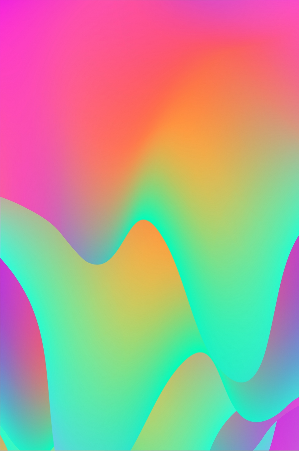 Colorful Gradient Fluid Abstract Pattern Gradient Pattern