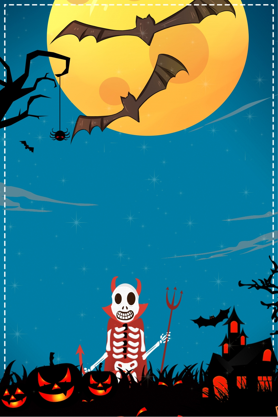 Halloween Poster Background Free.Halloween Poster Background Material Halloween Hotel