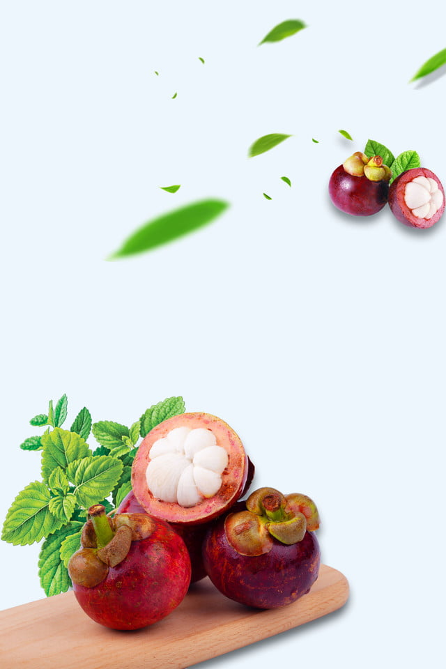 pngtree mangosteen fruit fresh minimalist background image 189453