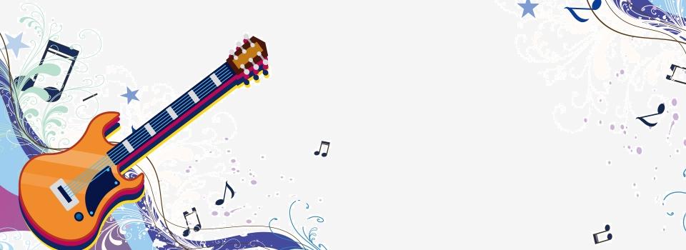 Música Invitación Invitación Dibujado A Mano Blanca De