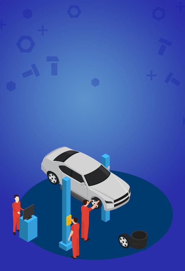 Car Repair And Maintenance >> Professional Car Repair And Maintenance Background Template