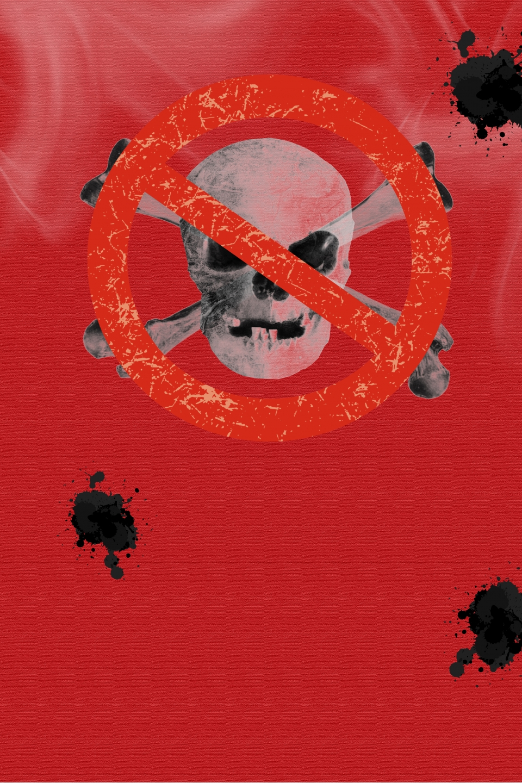 Gambar Latar Belakang Tekstur Merah Gambar Poster Anti Dadah