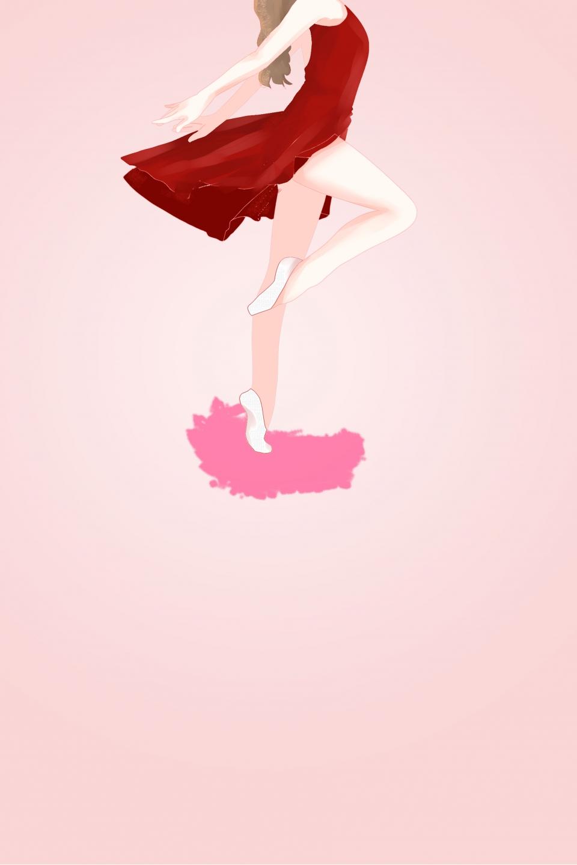 Simple Ballet Life Art Poster Art Class Art Class Registration Dance Art Class Background Image For Free Download