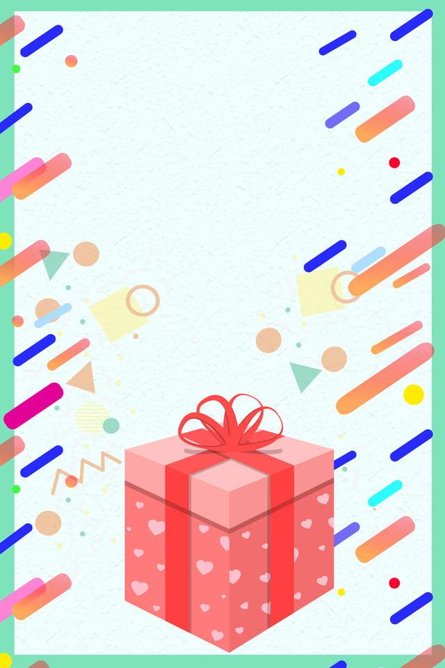 Wechat Qr Code Scan Code Attention Poster Background, Wechat