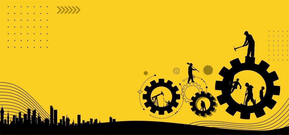 51 51 Día Del Trabajo Feliz Día Del Trabajo, Viento Simple, Equipo ...