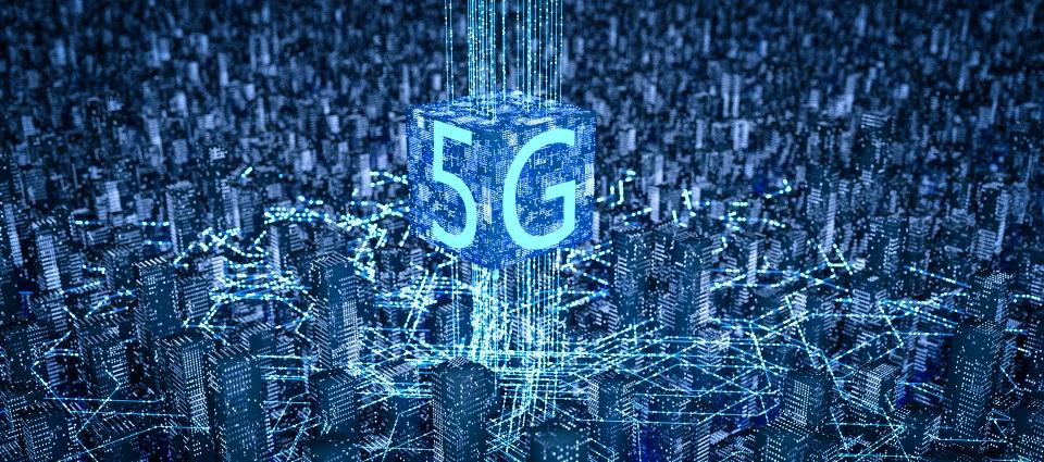 5g Technology Texture Sci Fi C4d Background, 5g, Technology ...