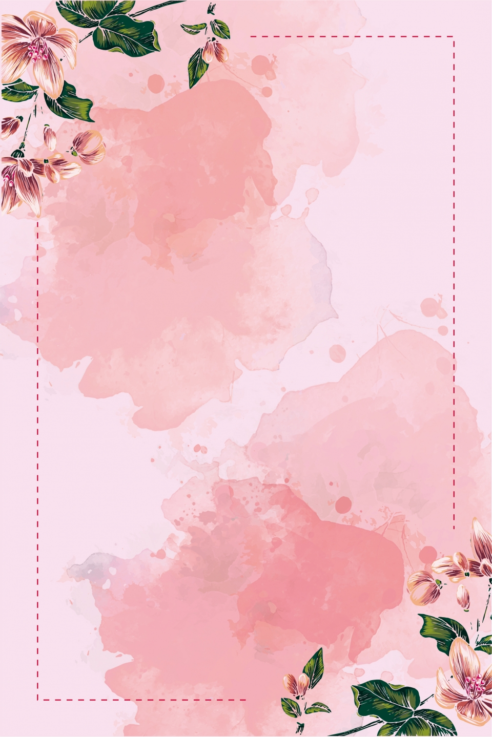 Creative Flower Tmall Wedding Expo Hd Background Beautiful Tmall E Commerce Background Image For Free Download,Necklace Grt Antique Jewellery Designs