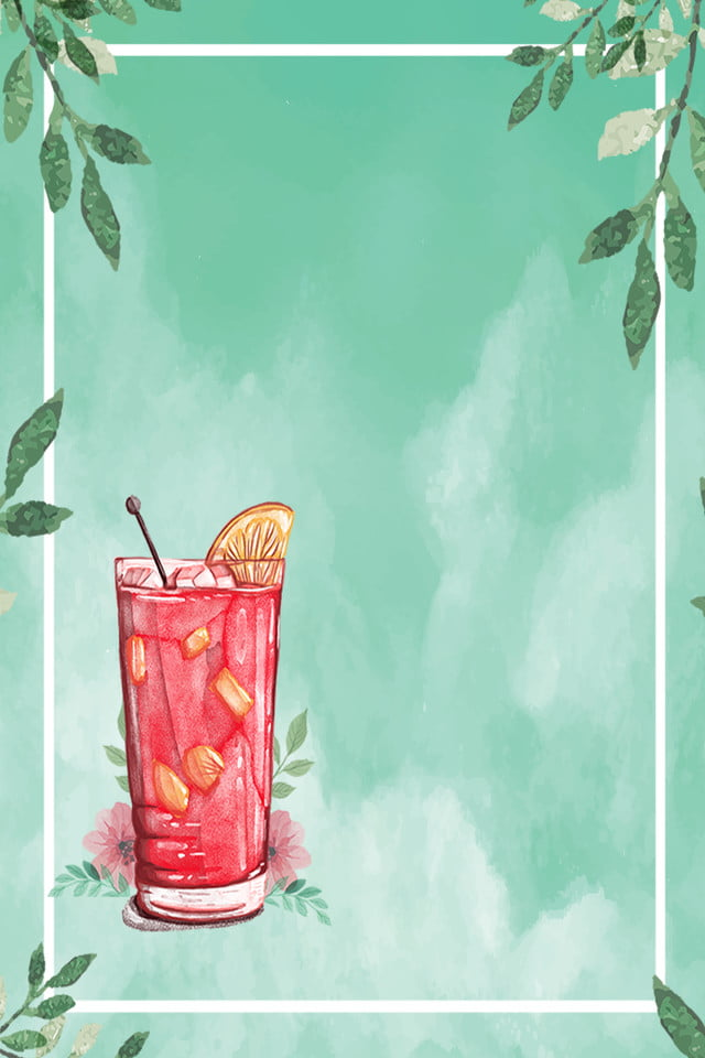 Creative Hand Drawn Fresh Watermelon Juice Food Poster Background, Creative, Hand Drawn ...