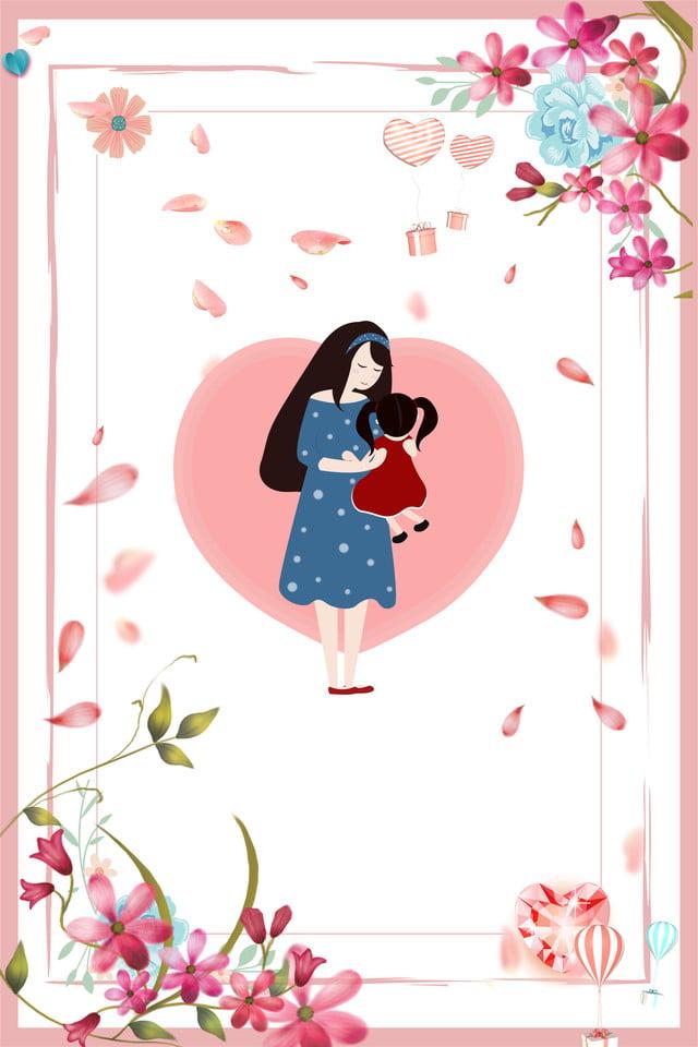 Hari Ibu Kartun E Commerce Diskon Latar Belakang Estetika Hari Ibu Kartun Indah Gambar Latar Belakang Untuk Unduhan Gratis