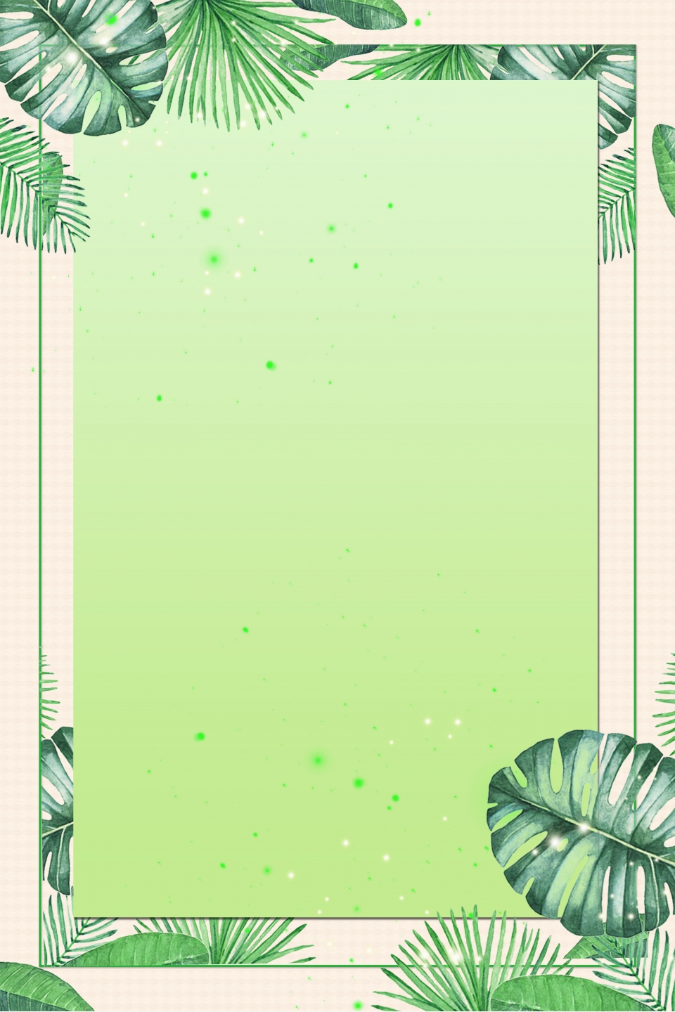 Green, PNG, 3543x5315px, Flower, Area, Border, Color ... |Green Flower Border