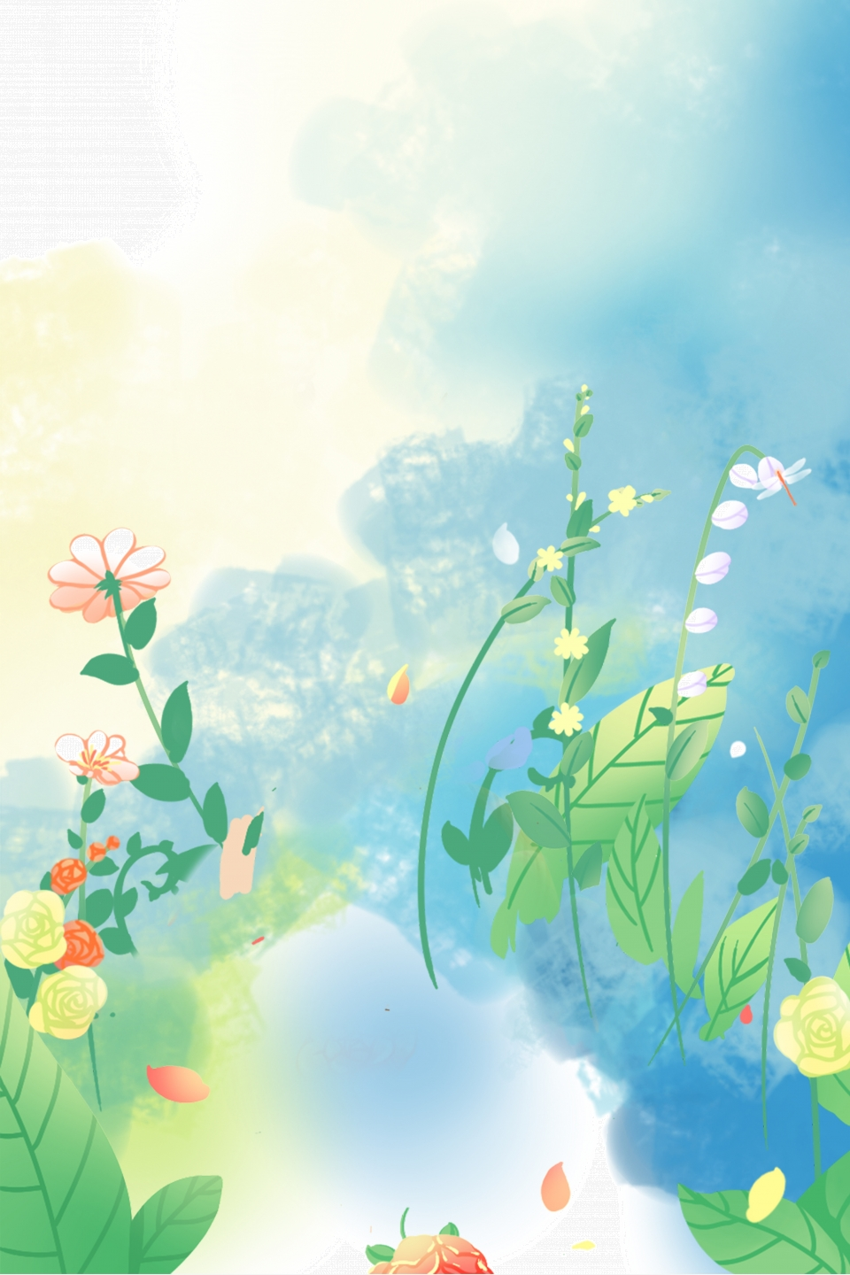Aesthetic Natural Flower Spring Simple Spring Dreamy