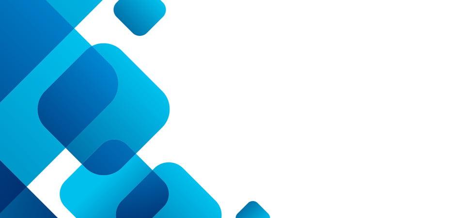 blue geometric flat business card background business
