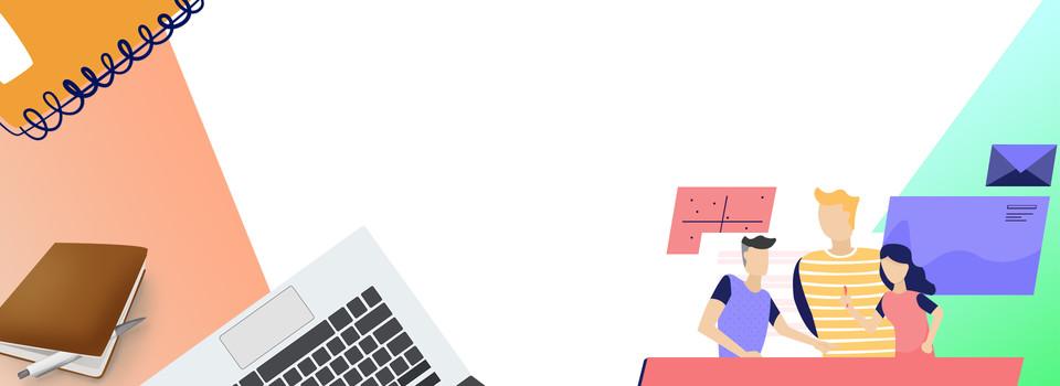 Office Worker Cartoon Work Minimalist Background Office Worker Cartoon Work Background Image For Free Download