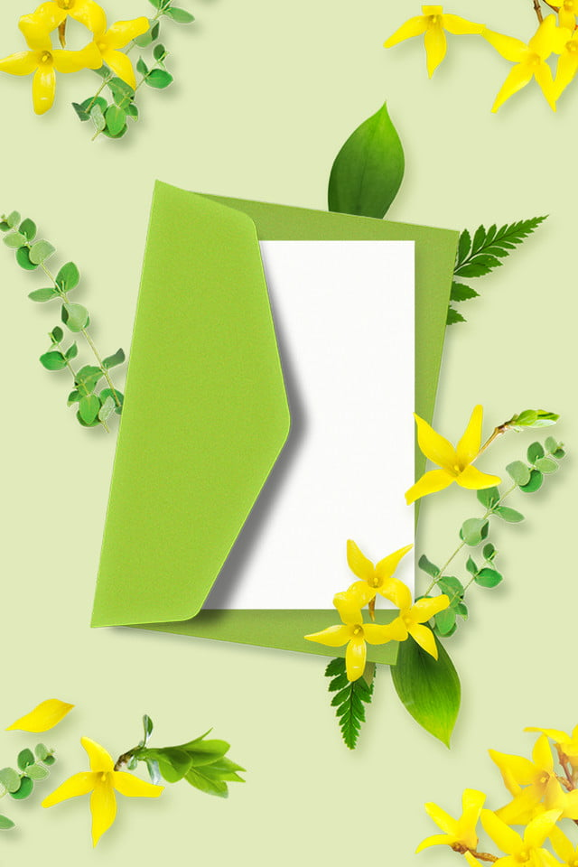 Fiori Gialli Libri.Estate Foglie Fresche Verdi Piccoli Fiori Gialli Borsa Per Libri