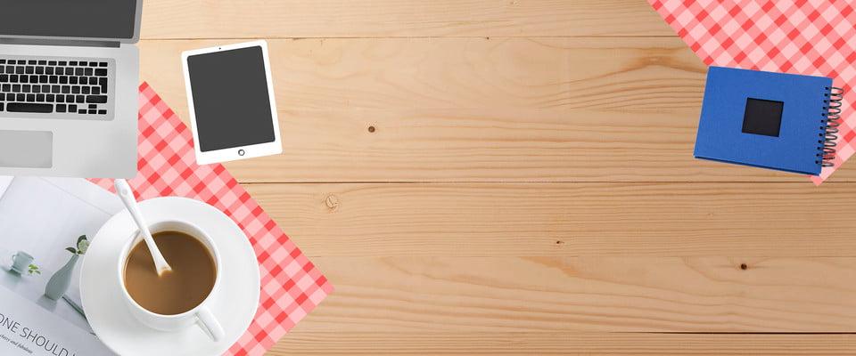 Desk Office Atmosphere Desktop Plank Texture Background Flat