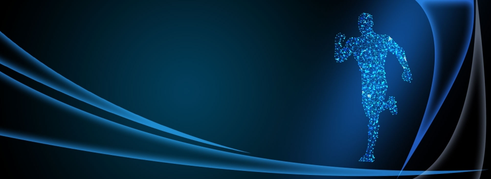 tech blue minimalistic gradient ppt background  ppt