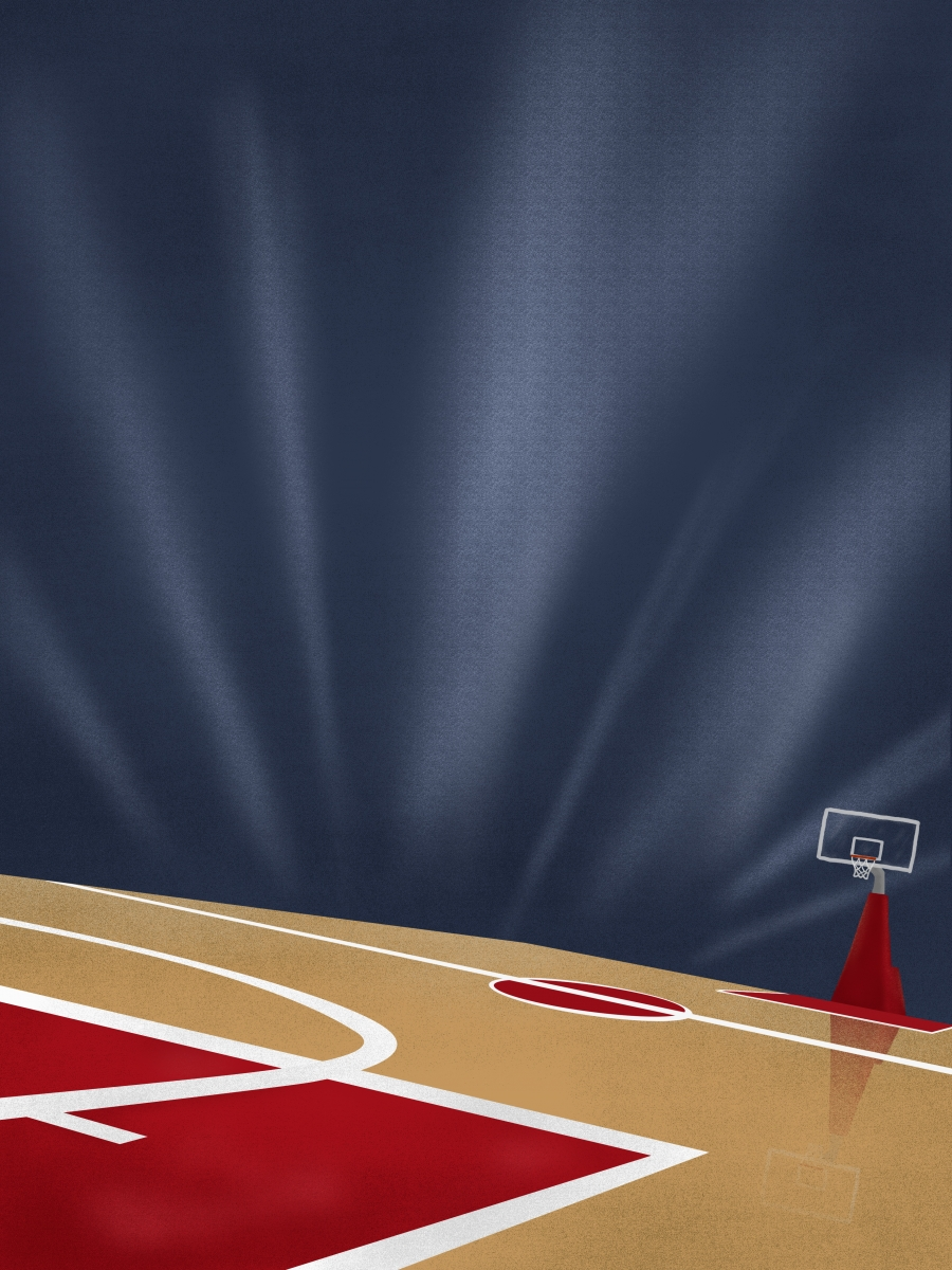 Basketball Court Background Background Exercise Fitness Background Image For Free Download